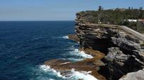 悉尼盖尔普风景区风化岩石