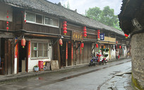 四川 元通古镇传统川西民居