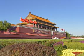 北京天安门建筑外景