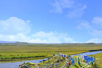 黄河支流白河风光