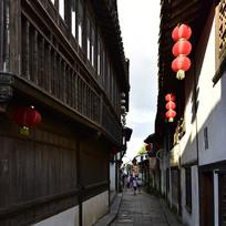 新场古镇的小巷子