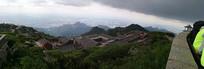 气势磅礴的泰山全景
