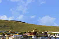四川若尔盖藏传佛教寺庙达扎寺