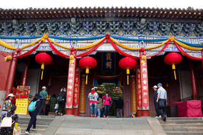 中国古代建筑泰山碧霞祠
