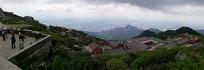 壮丽的泰山全景
