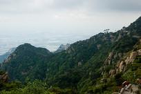 满目苍翠的泰山