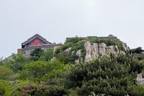 泰山玉皇顶