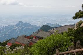 泰山玉皇顶中国古代建筑