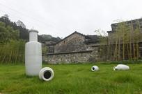瑶里古镇装置艺术