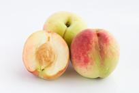 绿色食品桃子