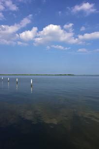 上海滴水湖风光