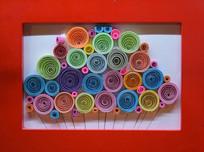 五彩创意折纸