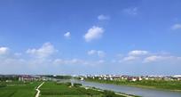 新农村的河道