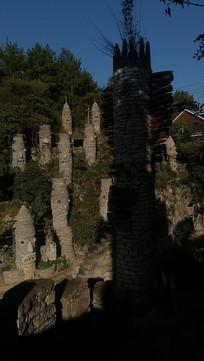 贵州贵阳夜郎谷的宋氏石头古堡