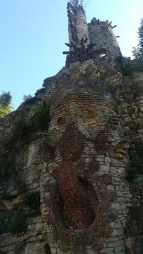 贵州夜郎谷的石头艺术