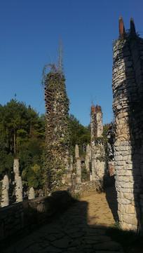 贵州夜郎谷宋氏古堡风景