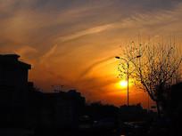 傍晚的云彩