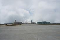 建设中的巫山机场跑道