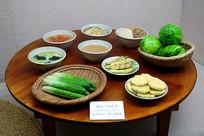 韩国夏季传统时令瓜果蔬菜