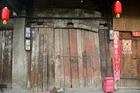老成都的传统川西木板房