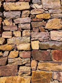 石头墙背景