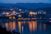 巫山新县城夜景