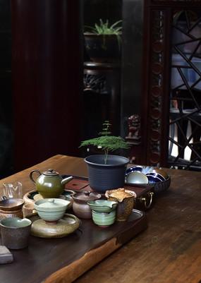 中式传统茶具