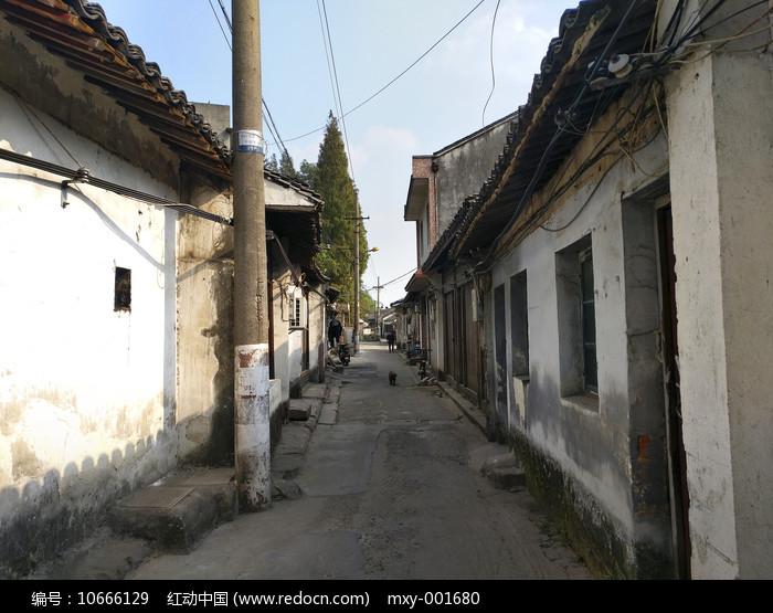 古镇老街巷图片