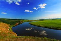 呼伦贝尔草原之河