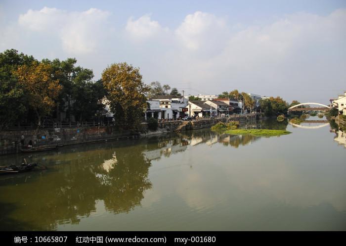 水乡村庄图片