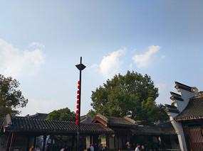 乌镇古广场