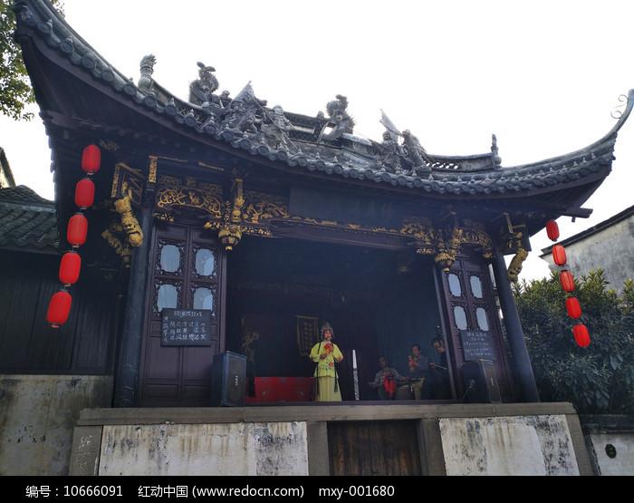 乌镇古戏台图片