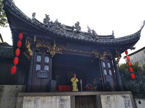 乌镇古戏台