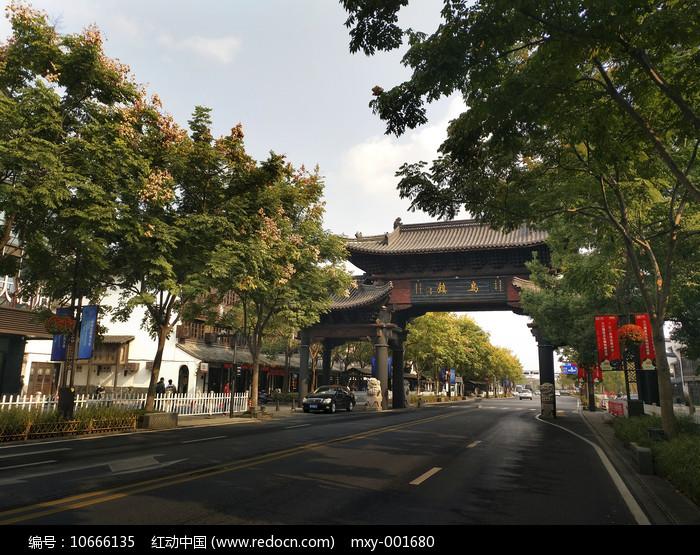 乌镇老街图片