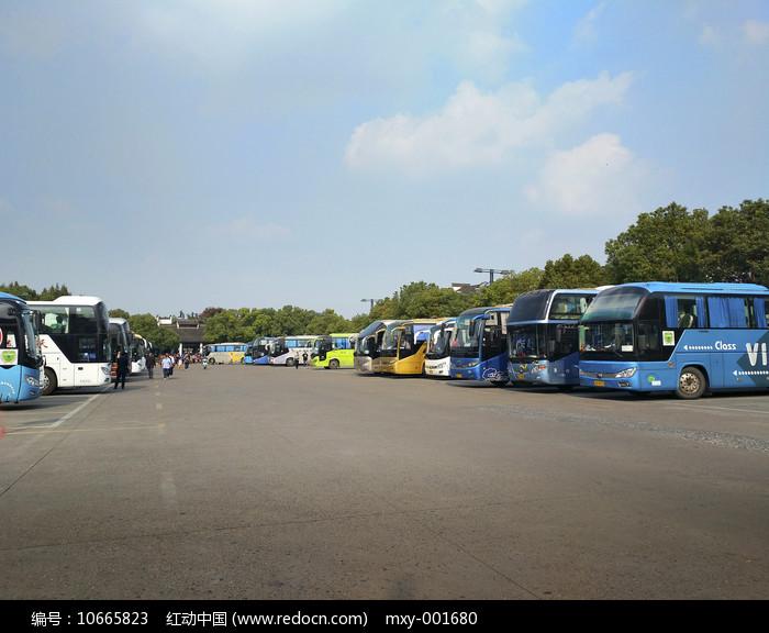 乌镇停车场图片