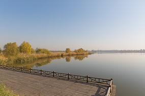 野鸭湖湿地公园景色