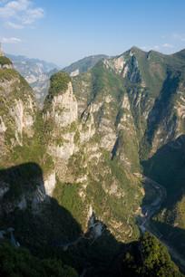 重庆巫山黄岩净坛峰美丽的风光