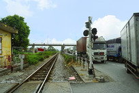 北越地区的铁路道口