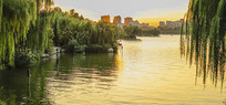济南大明湖风景