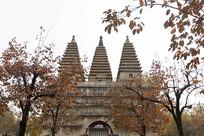 秋天的五塔寺