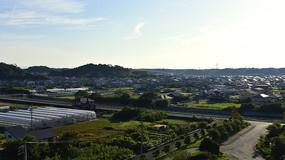 日本大阪的农村风光