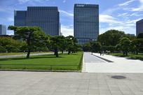 日本皇居前广场