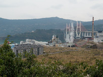 重庆云阳郊外化工厂