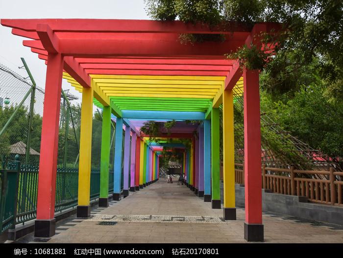 彩虹长廊园林建筑图片