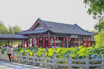 济南大明湖公园小沧浪亭