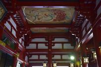 日本浅草寺的建筑细节