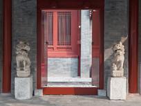 北京四合院的门口