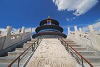 北京天坛祈年殿云龙凤御路