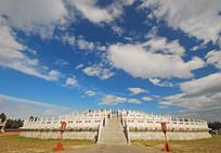 北京天坛圜丘坛-祭天台