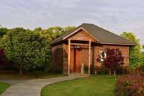 可爱的小木屋
